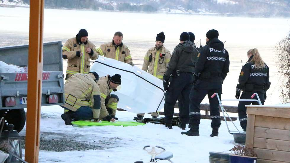 It was last Saturday that a dead person was found in the heart of Hemnfjorden.  The police now confirm that it is the man who has been missing since 20 December.  (Photo: John M. Myrhaug)